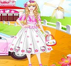 Barbie Hello Kitty Prensesi