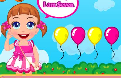 Bebe�in Balon Partisi