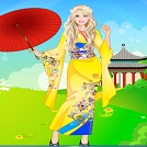 Barbie Japon Prenses Stili